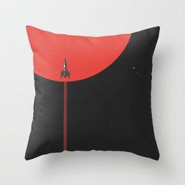 to new horizons Throw Pillow