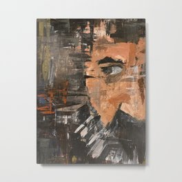 Side Eye Metal Print