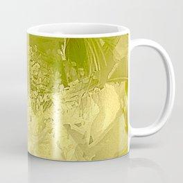 Cactus Orchid Light Green Cubist Coffee Mug