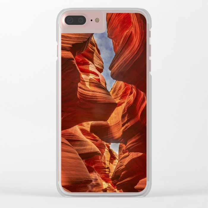 Lower Antelope Canyon, Arizona, USA Clear iPhone Case