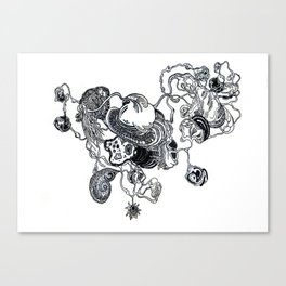 The Anatomy of Thought 2 Canvas Print