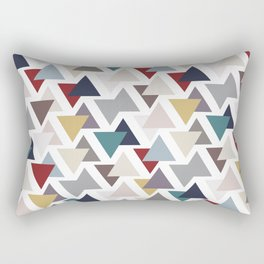 Scatter triangles Rectangular Pillow