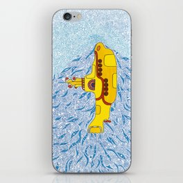 My Yellow Submarine iPhone Skin