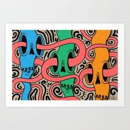 in 3s Art Print