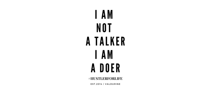 I am not a talker I am a doer Coffee Mug
