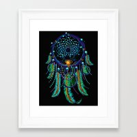dreamcatcher Framed Art Prints featuring DreamCatcher by Emberland