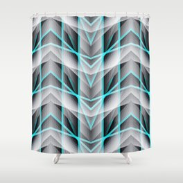 Vital Existence no.02 Shower Curtain
