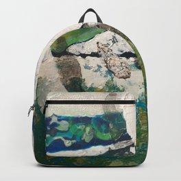 Polar Bear Going Home Backpack