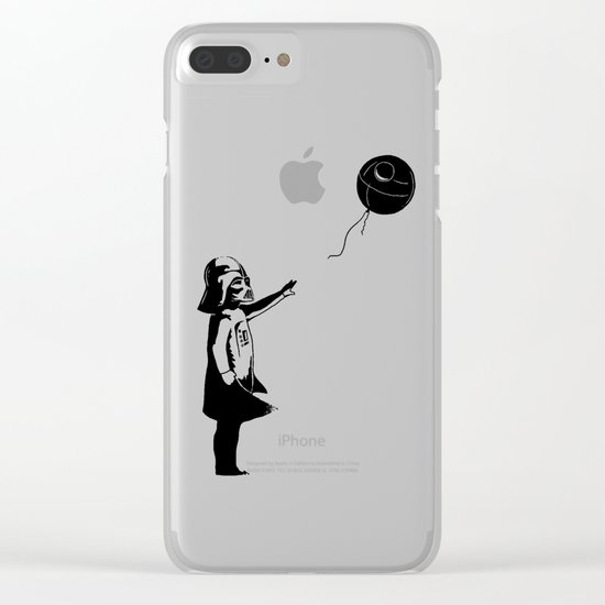 Let go the dark side Clear iPhone Case