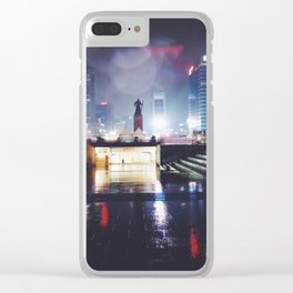 Rainy Nights in Seoul Clear iPhone Case