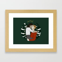 Snowbaz Framed Art Print