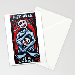 'Happiness Is A Choice' Stationery Cards
