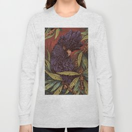 Black Cockatoo Long Sleeve T-shirt