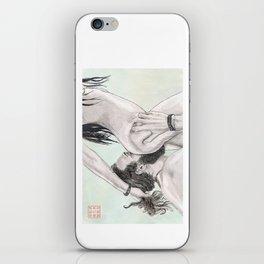 Double Grab iPhone Skin