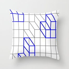 Cityscape 3 Throw Pillow