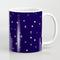 constellations Mugs featuring Constellations by Jenna Mhairi