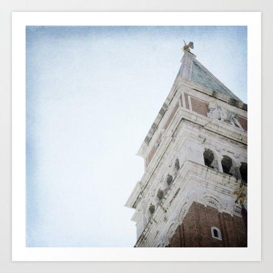 The Tower - Venice Art Print