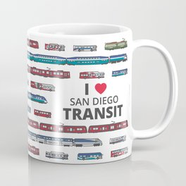 The Transit of Greater San Diego Coffee Mug