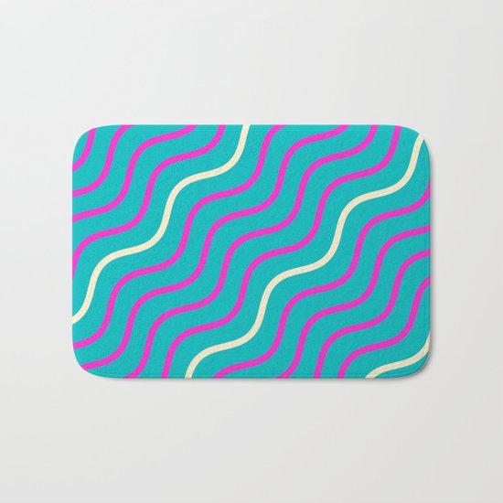 Summer Waves Bath Mat