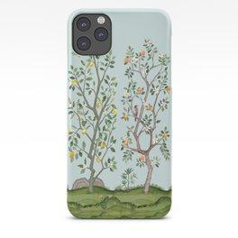 Chinoiserie Citrus Grove Mural Multicolor iPhone Case