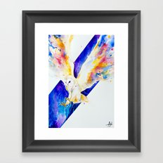 Hector Framed Art Print