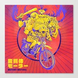 Mutant Motors Dudes Canvas Print