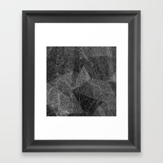 Ab Marble Layer Framed Art Print