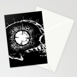 Lament Skull hellraiser pin head clive barker 80s horror movies monster Stationery Cards