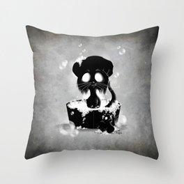 Bath Time Throw Pillow