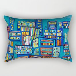 The Lost Art of Communication Rectangular Pillow