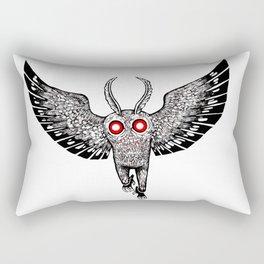 mothman rising Rectangular Pillow