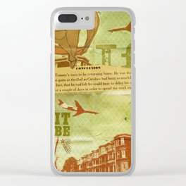 Shy 427 Clear iPhone Case