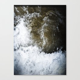 swallowed in the sea part 2 Canvas Print
