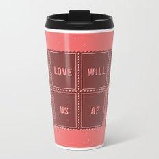 Love will tear us apart Metal Travel Mug