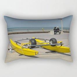 Face à la mer Rectangular Pillow