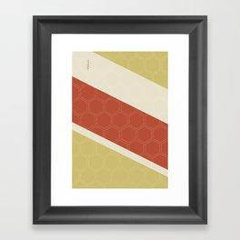 Geo Block No. 2 Framed Art Print