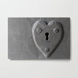 Lock of Love Metal Print