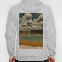 Sunset Lake Under A Cloudy Sky Hoody