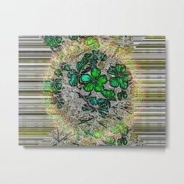 Quantum Blooms Metal Print