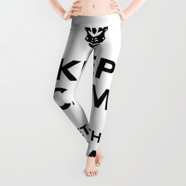 Keep Calm And Let's Do The Time Warp Again Leggings