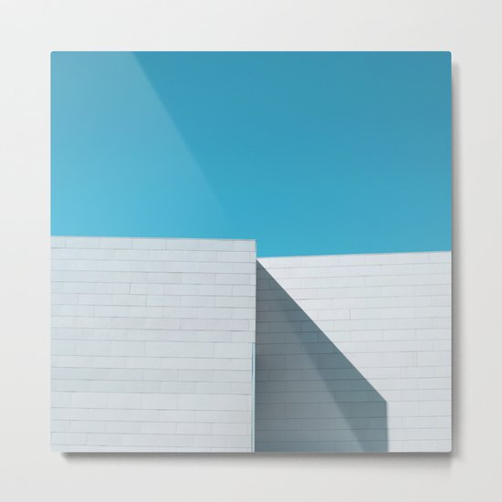 White building Metal Print