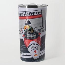 Senna, King of the rain Travel Mug