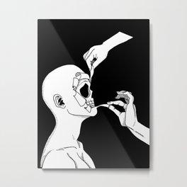 Torn Apart Metal Print