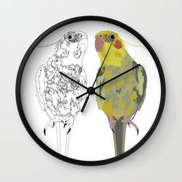 Matti, Cocatiel Wall Clock