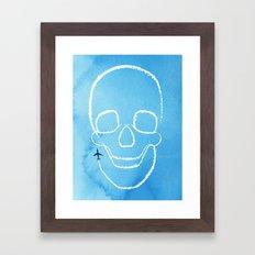 Rough Flight Framed Art Print