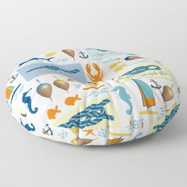 Nautical Knots Floor Pillow