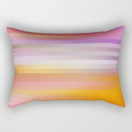 Hot Summer Blur Rectangular Pillow