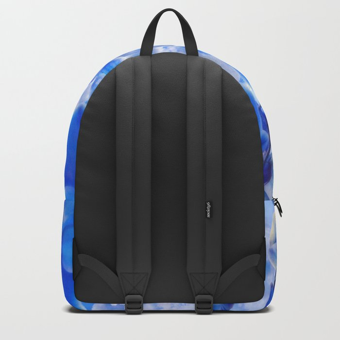 Orchids Blue Backpack