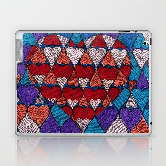 Op Heart Laptop & iPad Skin