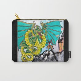 facing your fear (square) Carry-All Pouch